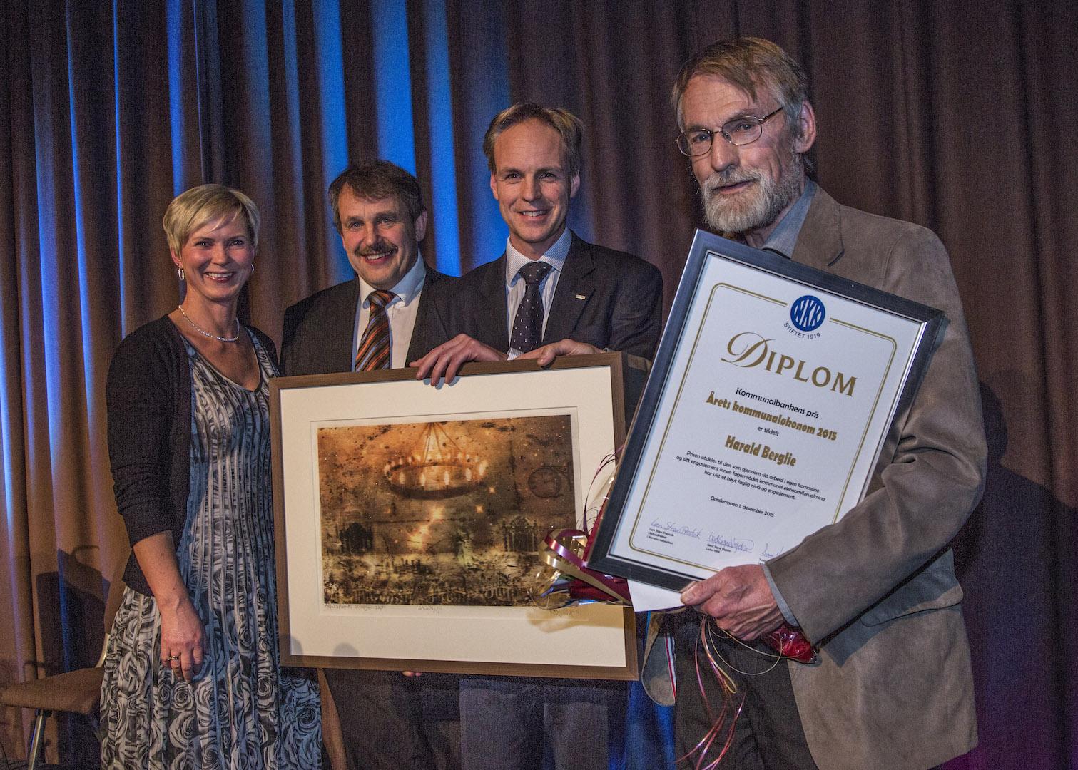 Kommunalbankens pris – Årets Kommunaløkonom 2015